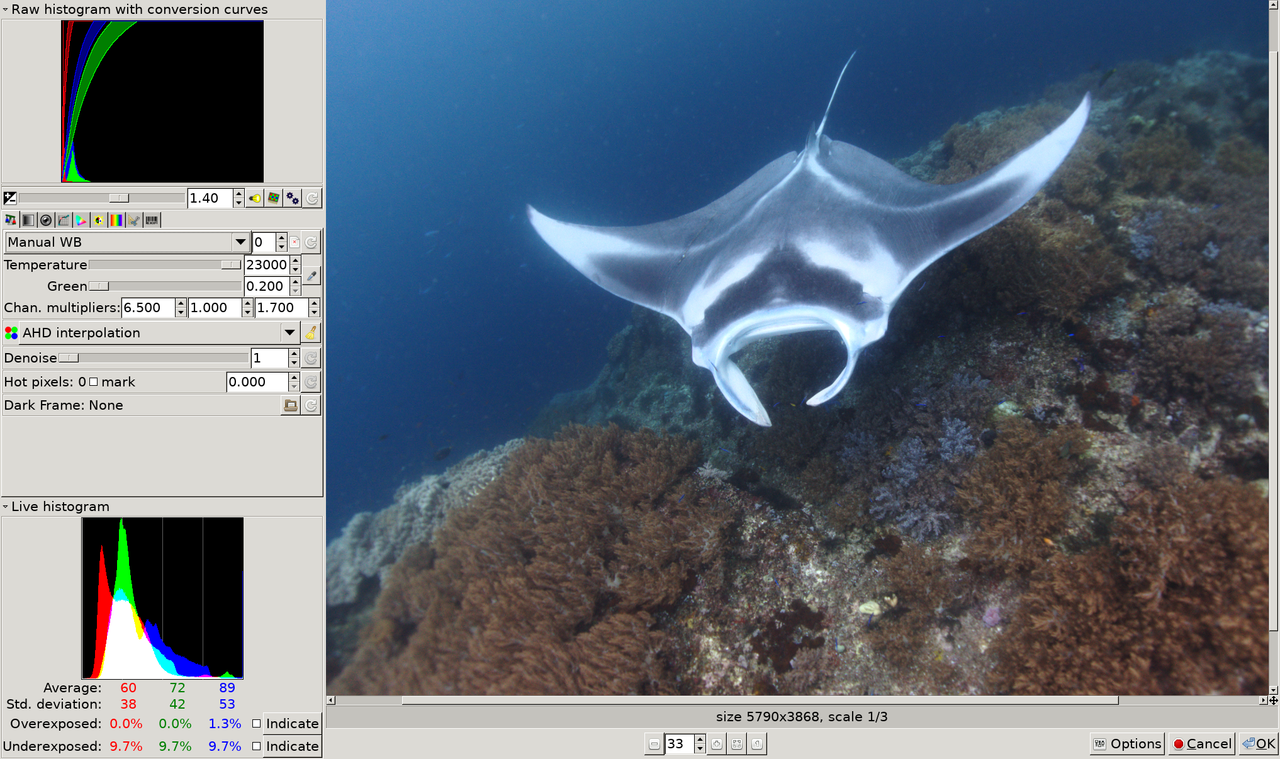 OpenBSD and Diving: photography